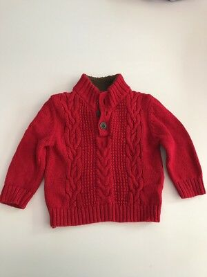 Cherokee Toddler Red Sweater 18Months