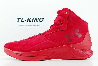 65036c2329c87 Under Armour UA Curry 1 Lux Mid Red SDE Suede 600 Pairs Limited 1298701 600  Df