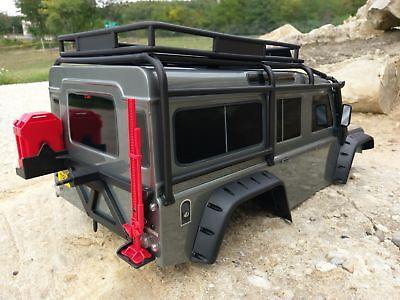Traxxas TRX-4 body with all accessories