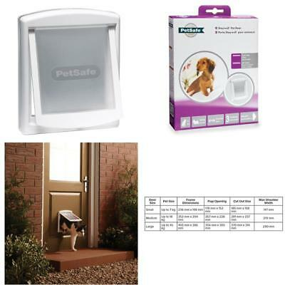 Staywell 715 Small White Flap / Door For Cats &Amp; Small Dogs