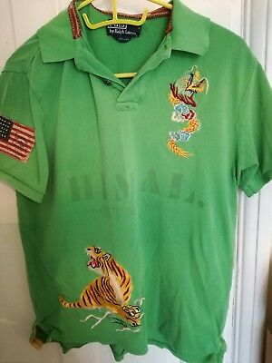 Ralph Lauren embroided polo shirt (Vintage and rare)