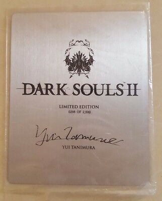 Dark Souls 2 || Sealed Metal Art Card - 298 out of 2500! Limited Edition