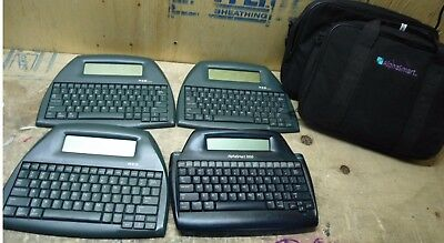 Lot of 4 - 3x Neo by Alphasmart - 1x Alphasmart 3000 - Learning Word Processors|