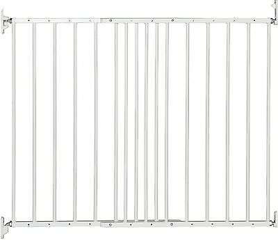 BabyDan Multidan Extending Metal Safety Gate (White) BabyDan