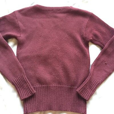Vintage 1930s Pullover Sweater Small Boatmeck
