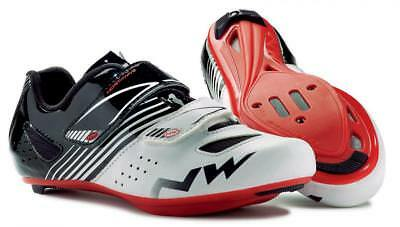 NORTHWAVE Junior road cycling shoes TORPEDO JUNIOR white/black