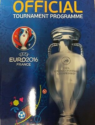 Euro 2016 Programme (English) MINT CONDITION!!