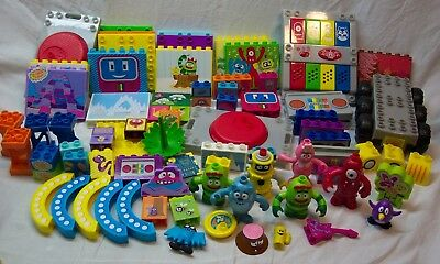 Mega Bloks MIXED SETS OF YO GABBA GABBA BUILDING SETS ALL CHARACTERS Tour Buggy