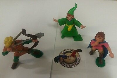 Original 1986 Dungeons and Dragon figures