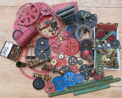 Vintage Meccano Collection - Large Selection of Tyres, Cogs etc.