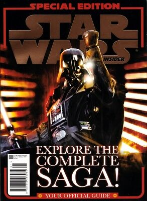 Rare!! STAR WARS INSIDER SPECIAL EDITION 2010 Explore The Complete Saga Official