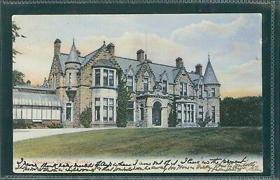 Glengrant House, Rothes, Moray. Printed C.1905.