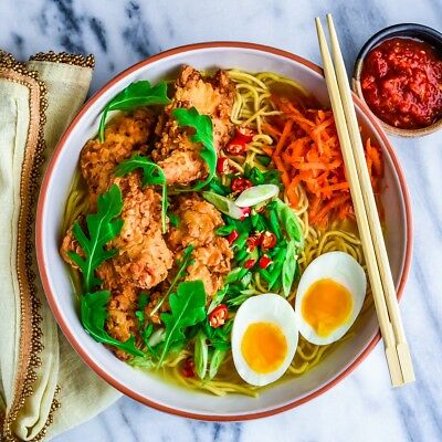 Recipe Udon Ramen Noodle Spicy With Egg