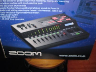 Zoom HD8 Digital Recorder with CD burner, box included