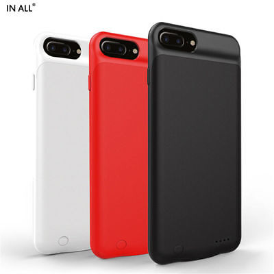 Portable Power Bank Smart Battery Charger Cover Case For iPhone 8/7/ 6/6S Plus