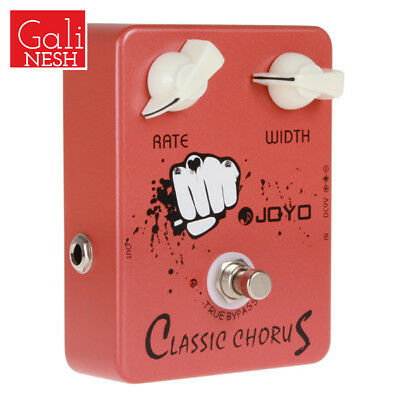 JF-05 2 Knobs Classic Chorus Guitar Effects Offering Incredible Sound