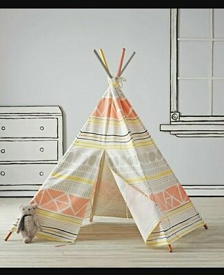 """American girl Mini Suite Camping Tee Pee Camping Tent 18"""" Girl Doll land of nod"""