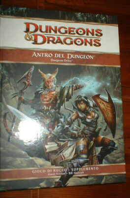 Manuale Fantasy - Dungeons Dragons - Antro Del Dungeon - Italiano