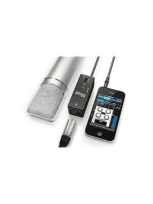 iRig PRE Mic Audio Interface For iPad iPhone & iPod Touch