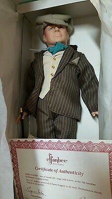 EFFANBEE DOLL JAMES CAGNEY DOLL Vinyl Collectible 1987 COLLECT GIFT PRESENT