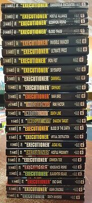 Don Pendleton the executioner series lot of  24 paperback novels
