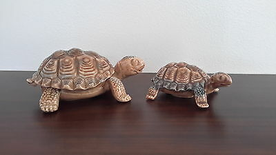 2 x WADE WHIMSIE TORTOISE.1 WITH LIFT OFF BACK