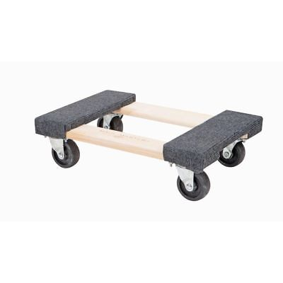 """SET/LOT of TWO (2) 1000 lb capacity 12""""x 18"""" Movers Moving Furniture Dolly NEW"""