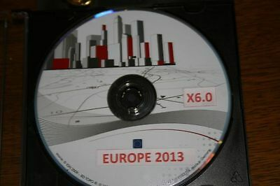 GPS NISSAN DVD EUROPE VERSION X6.0 Xanavi 2013 /2014