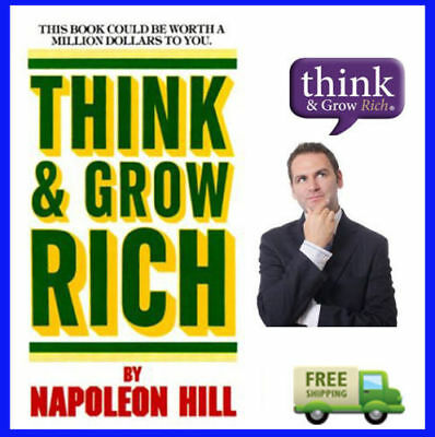 Think And Grow Rich By Napoleon Hill ebook  PDF With Resell Rights