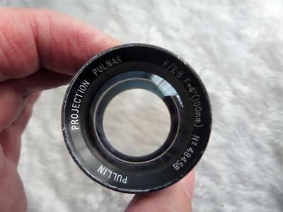 VINTAGE PULLIN f2.8 4inch PROJECTION PULNAR LENS