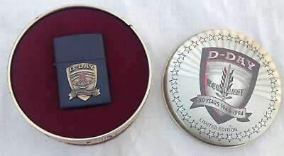 Zippo D-Day Normandy 50 Years 1944-1994 Limited Edition
