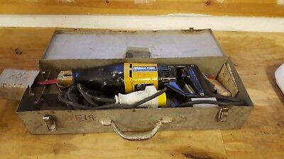 Millers Falls Reciprocating Saw 110v Ex-Army
