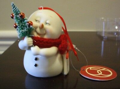 Dept 56 Snowpinions Christmas Tree New In Box Porcelain Ornament