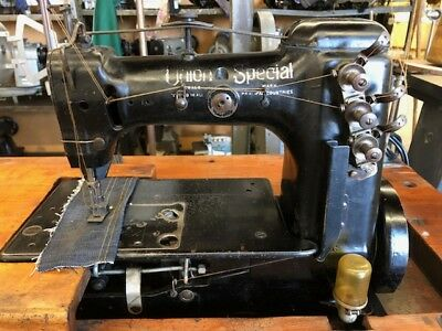 Union Special Coverstitch Regular 52700N with Servo Motor and Table