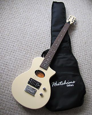Hutchins OT Travel Guitar Cream