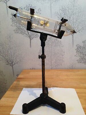victorian giesler tube with stand