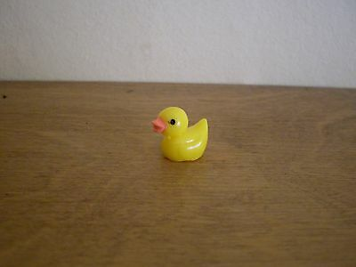 Dollshouse Miniature ~ DUCK ~ YELLOW