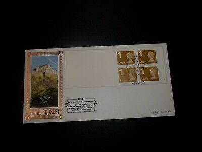 2009 1St Class Large Letter Stamp Book Benham (D562) Fdc - Royal Mail, Edinburgh
