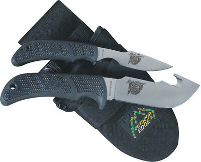 "Outdoor Edge OEKO1N Knives Fixed Knife Kodi Combo Combines 2 1/2"" Kodi Caper & 4"