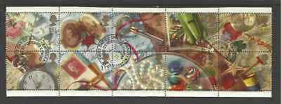 SG1592a GB GREETING STAMPS-'MEMORIES' VERY FINE USED SET