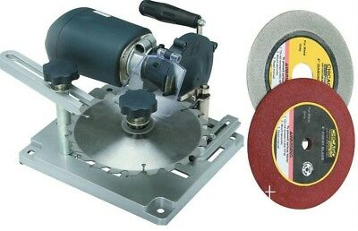 Universal Circular Saw Blade Sharpener  120 Volt  with diamond & emory wheels