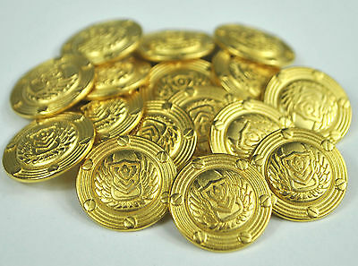Gold Military Blazer Buttons 22mm  with Shield Motif
