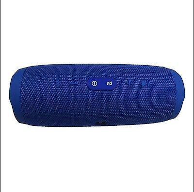 Blue Charge-3 Waterproof Shower Wireless Portable Bluetooth Rechargeable Speaker