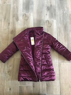 Calvin Klein Jeans Girls Size 5t Winter Coat New with Tags Great Gift