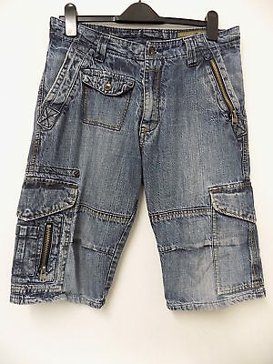 Sicko Nineteen men's stylish denim shorts size W34
