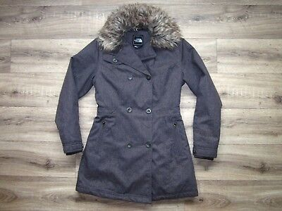 The North Face Boulevard Insulated Women's Jacket XS RRP£260 Parka Coat Arctic