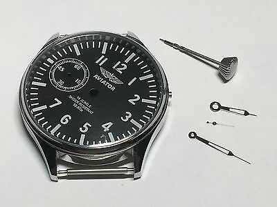 new set case steel , dial , hands ,crown of 3602 for the mechanism  USSR