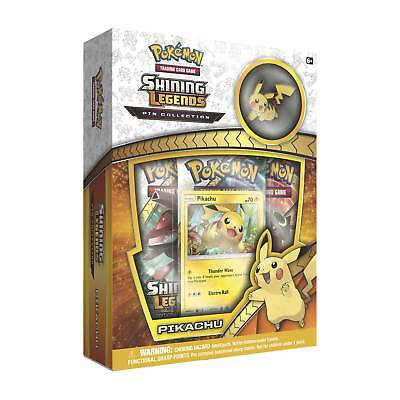 Pokemon Shining Legends Pin Collection- Pikachu: 20Th anniversary special box