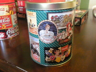 Coca Cola Puzzle In A Tin-700 Pieces-Picture Of Long Ago-1995