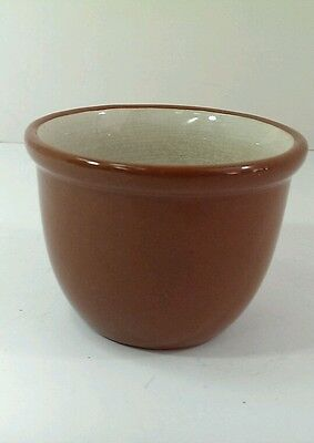Vintage Weller Pottery Small Redware cup dish bowl bean cup